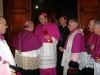 Nuncio being welcomed at the Cathedral Church