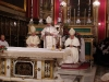 Nuncio delivering his homily during mass (Cathedral Church)