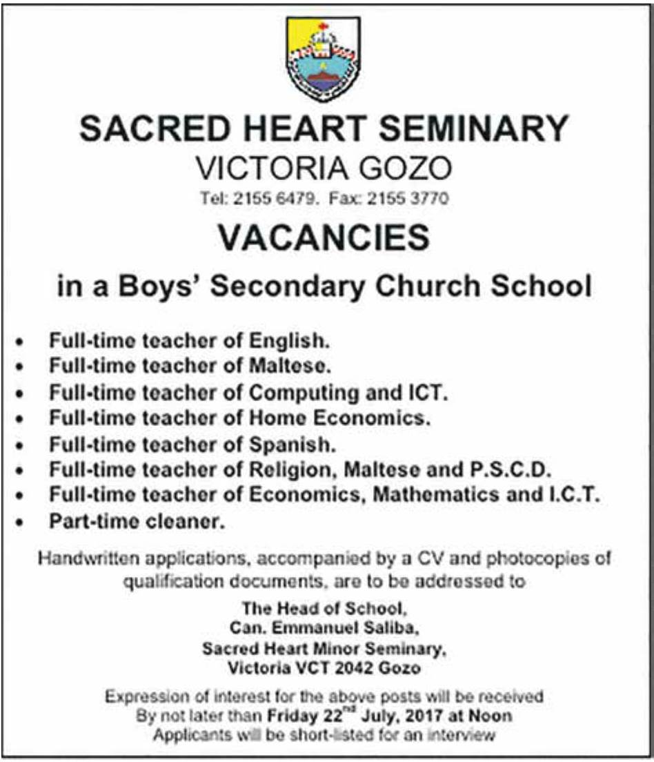 minor-seminary-job-vacancies-july-2017.jpg